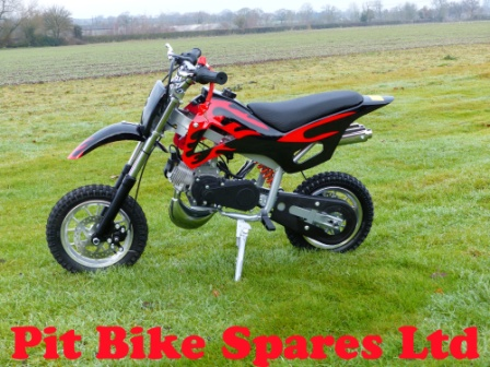 New Black MK1 49cc Mini Dirt Bike. Minimoto Pocket Bike