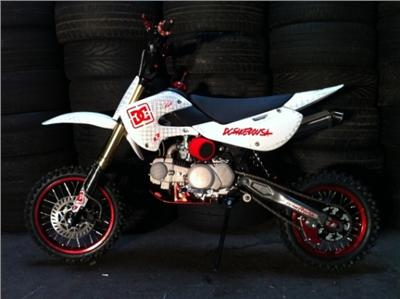 ROCKSTAR MAKITA GRAPHICS TO FIT KLX STYLE CHINESE PIT BIKES