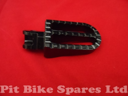 Black CNC Foot Pegs For Pit Bike. Foot Rests, Footpegs