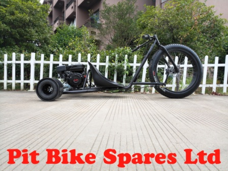 Black 200cc Big Wheel Drift Trike