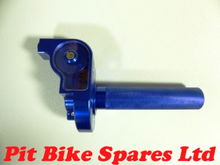 Blue All Alloy 1/4 Turn Quick Action Throttle