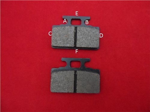 BP6. Front Brake Pads. Fits Our Front Brake Assembly