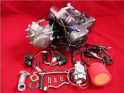 Lifan 110cc Manual Electric Start Pit Bike Engine Package T/S