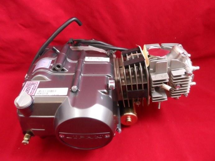 lifan 125cc semi auto electric start pit bike engine & loom b/s
