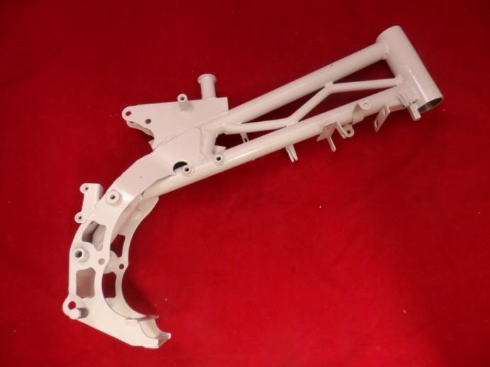 New White Trellis Frame For CRF70 Sized Pit Bike. | WPB XLR