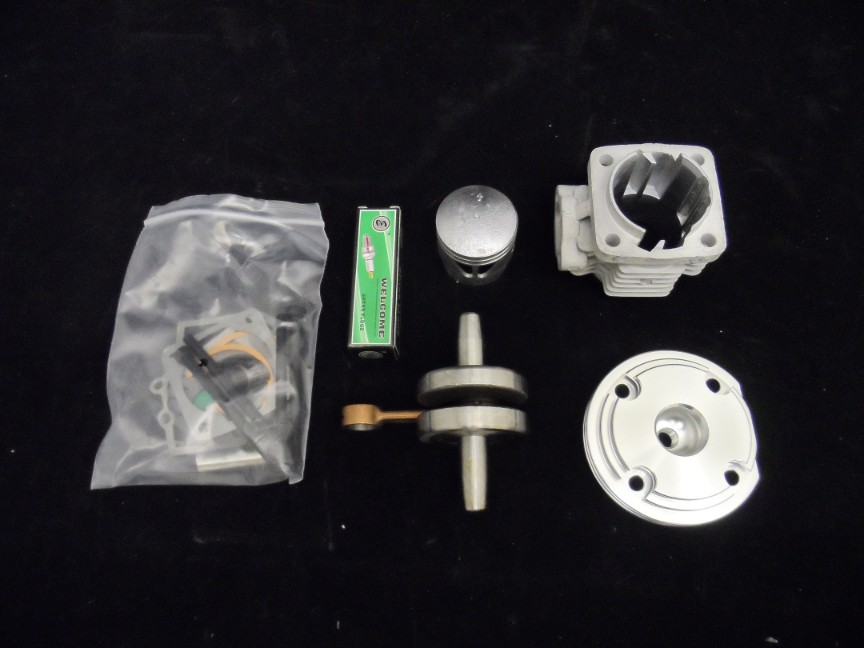 49cc Mini Moto Engine High Compression Piston And Performance He