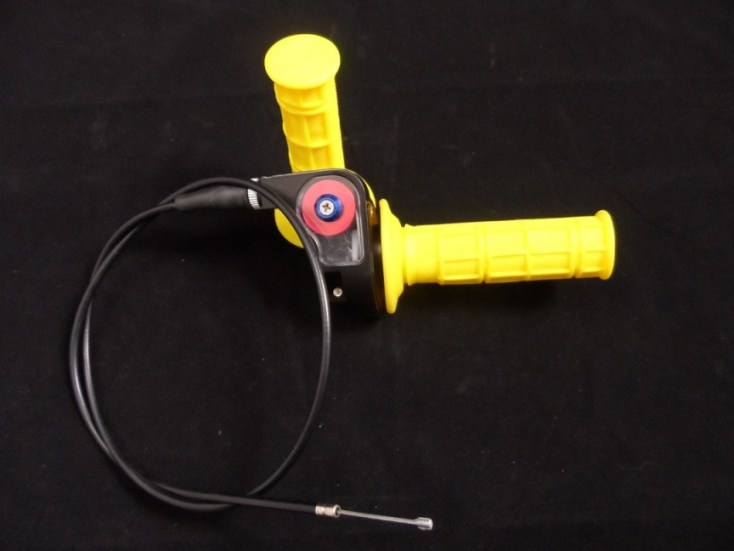 1/4 Turn Quick Action Throttle Kit Yellow
