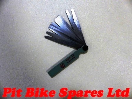 Metric Feeler Gauges For Tappets & Spark Plug Gaps