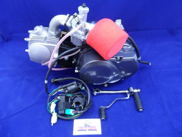 Lifan 110cc 4 Speed Semi Auto Engine Full Package