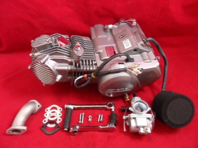 Zongshen H/O Z155 Engine & Carb 18BHP