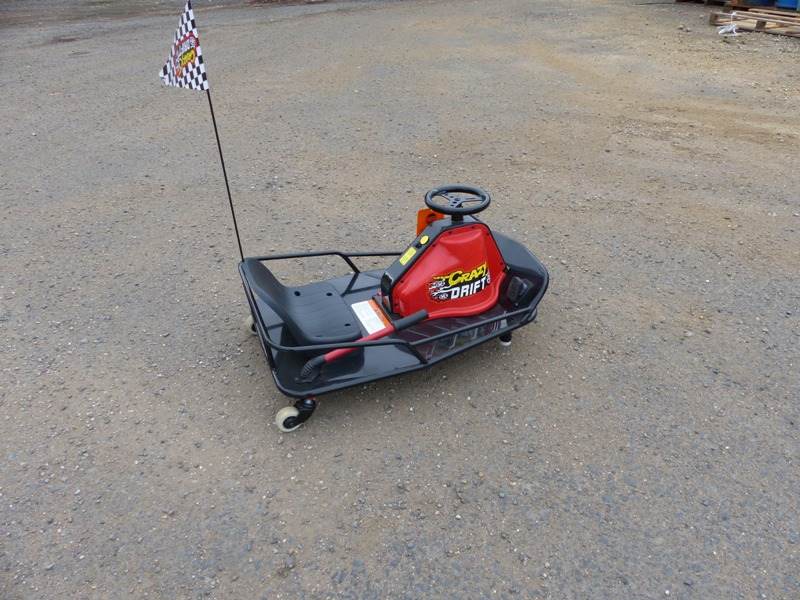 Electric Battery Powered Crazy Drift Go Kart. 24v 250w Rechargea