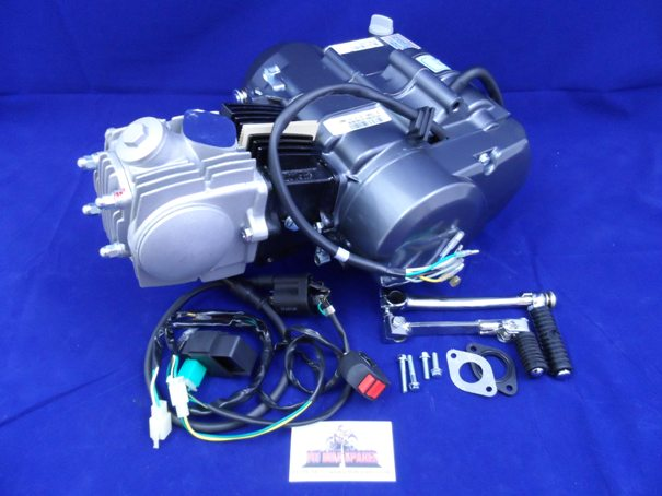 Lifan 110cc 4 Sd Manual Engine & Complete Wiring Loom on