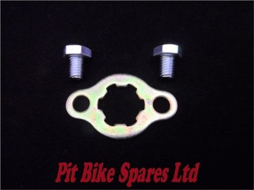 17mm Shaft Sprocket Retainer & Bolts