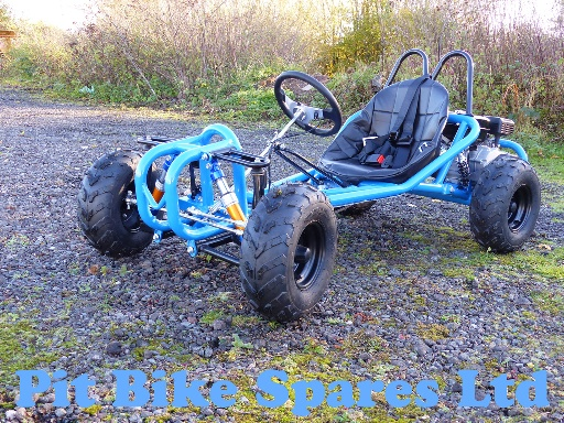 Blue 200cc Off Road Kart With Suspension